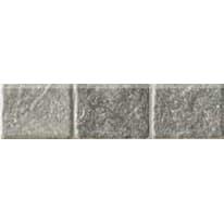 Battiscopa Pavè grigio 7 x 30 cm