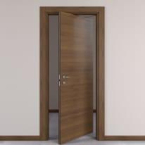 Porta da interno rototraslante Stenophylla Cacao 70 x H 210 cm dx