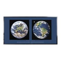Stampa incorniciata Planet Earth 30 x 60 cm
