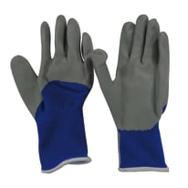 Guanti in nylon con spalmatura in nitrile Dexter Blu e grigi tg. 10/XL