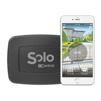 Serratura controllabile con smartphone 1 Control Solo Pro elettrica per porta box e serrande