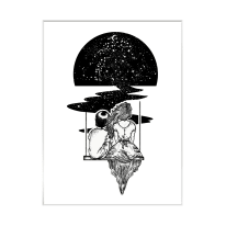 Stampa incorniciata Tramonto 40 x 50 cm