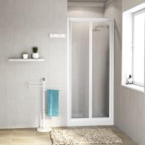 Porta doccia Elba 84-90, H 185 cm cristallo 3 mm piumato