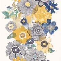 Carta da parati Fiore stil. giallo 10 m