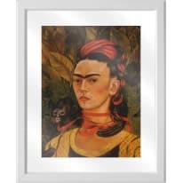 Quadro in vetro con cornice Frida 45,5x55,5