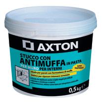 Stucco in pasta Axton Antimuffa liscio bianco 500 g