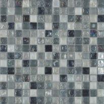 Mosaico Ice smoke 30,5 x 30,5 cm nero, grigio