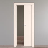 Porta da interno scorrevole Catbird crema 70 x H 214 cm reversibile