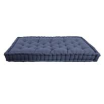 Cuscino da seduta per divano pallet Santorin blu 120 x 80 cm