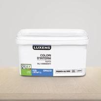 Idropittura lavabile Mano unica Grigio Dorato 6 - 2,5 L Luxens