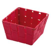 Porta oggetti Adria mini square rosso