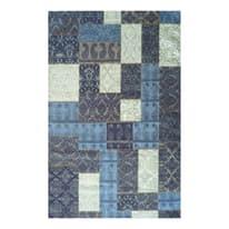 Tappeto Modern kilim blu 160 x 230 cm