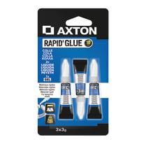Colla istantanea rapidglue Axton 3 g