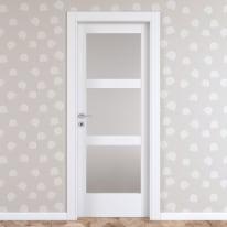 Porta da interno battente Sati 70 x H 210 cm dx