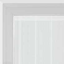 Tendina a vetro per finestra Picasso bianco 45 x 170 cm