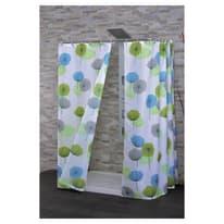 Tenda doccia Ambrosia multicolor L 120 x H 200 cm