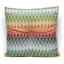 Cuscino grande Blucrecia multicolor 60 x 60 cm