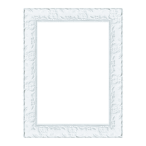 Cornice Sylvia bianco 21 x 29,7 cm