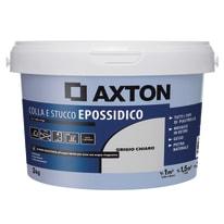 Stucco per fughe in pasta Axton Epossidica grigio chiaro 3 kg