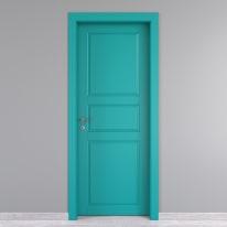 Porta da interno battente New York azzurro 70 x H 210 cm dx