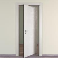 Porta da interno rototraslante Hunk luna 80 x H 210 cm dx