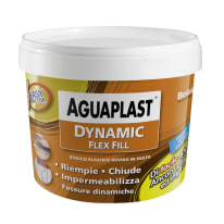 Stucco in pasta Aguaplast Dynamic Flex Fill ruvido grigio 1 kg