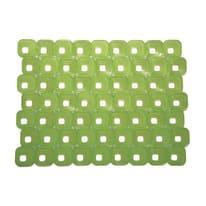 Tappetino lavello Optical verde L 40 x H 30 cm