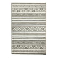 Tappeto Soraya grigio scuro 60 x 180 cm