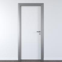 Porta per ufficio battente Frame eco bianco 80 x H 210 cm sx