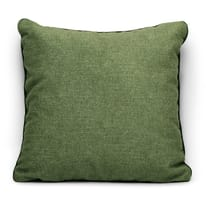 Cuscino Milano verde Piping verde 42 x 42 cm