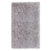 Tappeto Shaggy Enzo lurex argento 160 x 230 cm