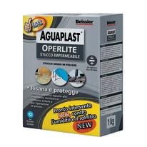 Stucco in polvere Aguaplast Operlite ruvido grigio 1 kg