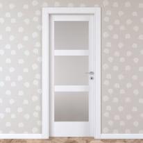 Porta da interno battente Sati 80 x H 210 cm sx