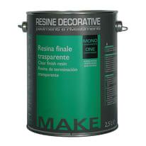 Resina finale protettiva lucida Make 2.5 L