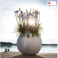 Vaso Puro Color con set autoirrigazione Lechuza ø 50 cm bianco