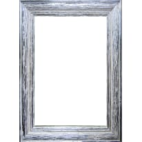 Cornice Louise argento 30 x 30 cm