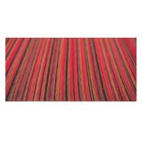 Tappetino cucina antiscivolo Deco stripes rosso 53 x 230 cm