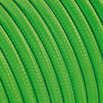 Cavo tessile verde