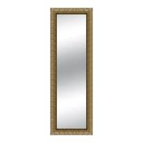 specchio da parete rettangolare Matteo foglia oro 68 x 168 cm