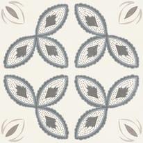 Piastrella Charming 20 x 20 cm beige, grigio, azzurro