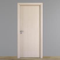 Porta da interno battente Notting Hill pino sbiancato 90 x H 210 cm reversibile