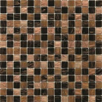 Mosaico Mix  gold dark 32,7 x 32,7 cm marrone
