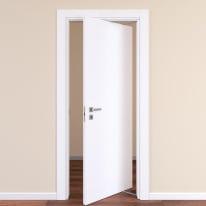 Porta da interno rototraslante Plaza frassino bianco 80 x H 210 cm dx