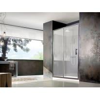 Porta doccia scorrevole Koleos, H 190 cm cristallo 6 mm trasparente/silver