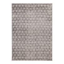 Tappeto Casa a grigio 60 x 120 cm