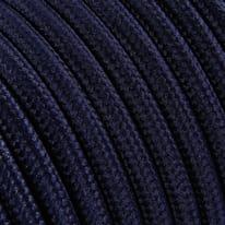 Cavo tessile blu