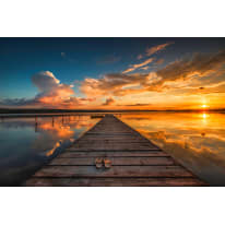 Quadro su tela glitter wow sunset 145x75 prezzi e offerte for Leroy merlin quadri tela