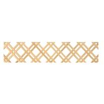 Inserto griglia diagonale Eagle L 125 x H 24 cm
