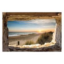 quadro su tela Finestra sul mare 90x135
