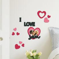 Sticker Foam S I love you